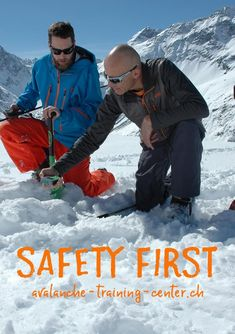Safety First Tipps  -  Hier auf dieser Safety Seite zeigen wir dir laufend wertvolle Tipps rund um die Lawinensicherheit, um so Deine Sicherheit noch zu maximieren. Safety First, Training Center, Atc, Workshop, Safety, Tips, Atelier, Work Shop Garage