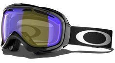 Oakley Unisex-Adult Elevate Snow Goggles(Jet Black,HI Amber Polarized)