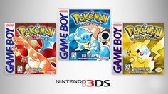 Original Pokemon games scheduled for 3DS release, and other Poke news - Oh No They Didn't! -- Yay! >w<