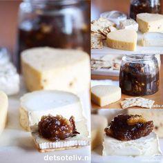 Mmmm... i helgen har jeg virkelig kost meg med deilige oster og en nydelig marmelade laget med dadler og valnøtter. En fenomenalt bra måte å starte det nye året på! Dette syltetøyet smakerveldig godttil alle slags oster og anbefales varmt!
