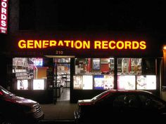Generation Records, 210 Thompson St. (Greenwich Village)