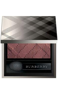 Burberry eyeshadow. Light, yet creamy long-lasting formula.