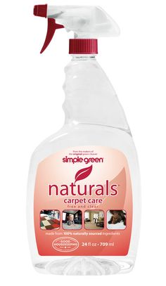 Simple Green® Naturals Carpet Care - Non-toxic, fast acting spot cleaner for carpets, rugs, fabric and upholstery!