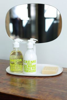 Liquid soap by Compagnie de Provence - Toiletries - Marseille soap Cleaning Supplies, Cleaning, Dish Soap Bottle, Bath, Marseille Soap, Amazing Bathrooms, Inspiration, Home Styles, Bathroom Inspiration