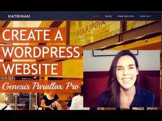 How To Make A WordPress Website (Genesis Parallax Pro)  : ) - http://www.howtowordpresstrainingvideos.com/wordpress-training-videos/how-to-make-a-wordpress-website-genesis-parallax-pro/
