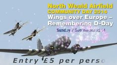 Short ad for the North Weald Airfield Community Day on Sunday 7 September 2014.