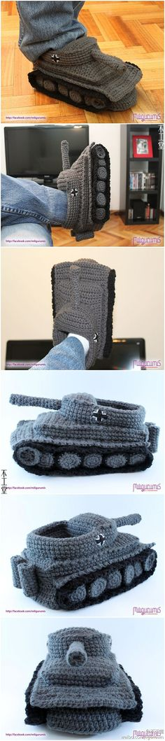 Crochet Tank Slippers Stuff Pinterest Crochet Patterns And Etsy
