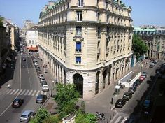 A view from the Hotel Pont Royal, Paris