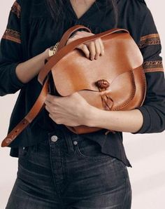 b31ee6ad4df801 Handmade Genuine Leather Saddle Bag Purse Crossbody Bag Shoulder Bag Purse  For Women Leather Saddle Bags