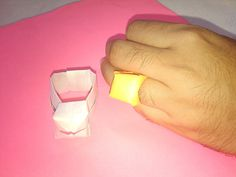 Paper Ring - Origami Paper Crafts for Kids