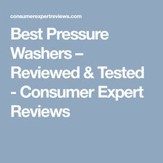 8 Best Semi-Pro Gas Pressure Washers images in 2017 | Pressure