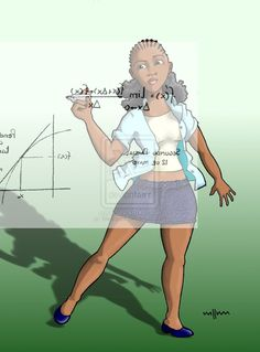 The Geek Pin Up: Calculo Matematico by ~Mediqiam on deviantART