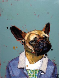 Justina is an artist based in Vermilion, Alberta. Will Smith, Boston Terrier, Dogs, Artist, Animals, Boston Terriers, Animales, Animaux, Pet Dogs