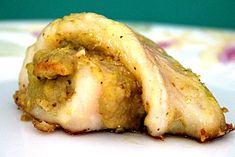 Filetto di merluzzo con mousse al pistacchio