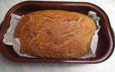 Domácí chléb je hotový do půl hodinky. Czech Recipes, Russian Recipes, Bread Recipes, Vegan Recipes, Cooking Recipes, Czech Desserts, Good Food, Yummy Food, Vegan Bread
