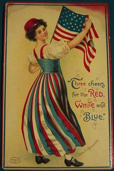 4th of july vintage cards   Yes, and a great 1, here is the 4th of July version.