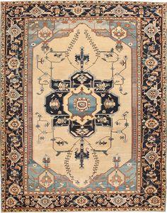 Serapi Rug, Persia, Late 19th Century