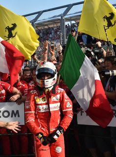 Sebastian Vettel  Ferrari, Scuderia Ferrari  Formula 1, F1  Let me show you... on tumblr