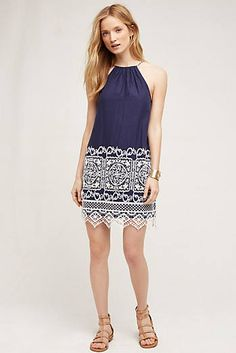 West End Swing Dress #anthrofave