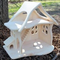 Fairy Country Cottage/Dollhouse, Pine Wood