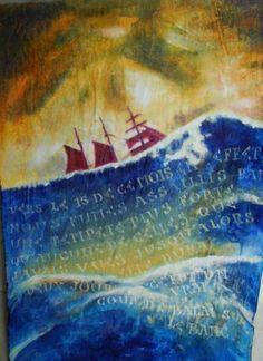 Schiff in den Wogen - Foto: S. Hopp
