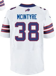 "$78.00--Corey McIntyre White Elite Jersey - Nike Stitched Buffalo Bills #38 Jersey,Free Shipping! Buy it now:click on the picture, than click on ""visit aliexpress.com"" In the new page."