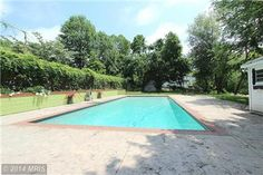 A pool makes this house even more cool! This Oak Hill Virginia Franklin Farm house was built in 1720 and managed by McGrath Real Estate