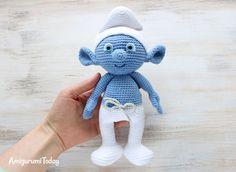 Crochet Smurf amigurumi pattern