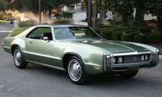 1970 Oldsmobile Toronado GT. Only 5,341 Toronado GTs produced in 1970