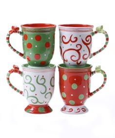 'Ho Ho Ho' 14-Oz. Mug Set