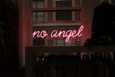 no angel neon signage photo – Free Neon Image on Unsplash Photo Wall Collage, Picture Wall, Frases Do Twitter, Neon Quotes, Neon Words, Neon Wallpaper, Computer Wallpaper, Neon Aesthetic, Aesthetic Black