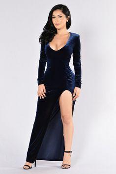 Love Sex Magic Dress - Navy