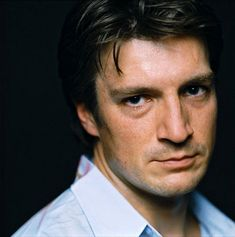 """Nathan Fillion / Richard Castle--- but will forever be in my heart as Malcolm """"Mal"""" Reynolds on Firefly. Nathan Fillion, Joss Whedon, Percy Jackson, Look At You, How To Look Better, Richard Castle, Raining Men, Comic Book Characters, Star Wars"""