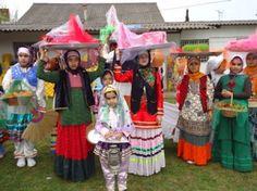 Mazanderani People in traditional Costumes.