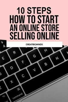 Selling Online and How To Start Your Shopify and Ecommerce Store easily with 10 simple step by step tutorial. This how to sell online tips will get you started easily from the ground up. #shopify #ecommerce #shopifytips #shopifystore #shopifywebsite Online Income, Earn Money Online, Business Tips, Online Business, Ecommerce Store, Selling Online, Starting A Business, How To Make Money, Simple