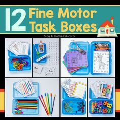 Fine Motor Archives - Stay At Home Educator