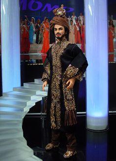 ninimomo.com = Pakistan =  ken doll  -qw Ken Barbie Doll, Barbie Miss, Barbie And Ken, Barbie Clothes, Couture Fashion, Fashion Dolls, Miss Pageant, Indian Dolls, Doll Costume
