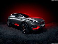 Peugeot Quartz Concept Rear View