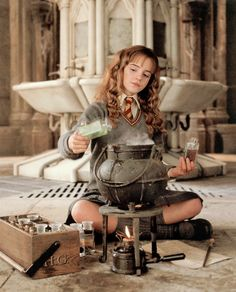 hermione granger. I love this buzzfeed story too.