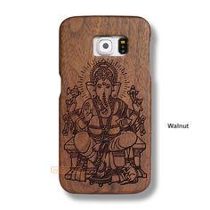 Ganesh Vinayaka Samsung S6 Case - Galaxy S6 Solid Total Wood Case - SDTRD0132