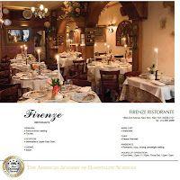 Firenze Ristorante Review: http://uppereastsideinformer.blogspot.com/