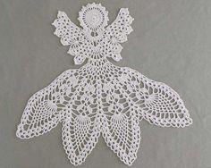 Maggie's Crochet · Excelsis Angel Doily Crochet Pattern