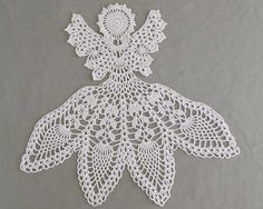 Excelsis Angel Doily Crochet Pattern