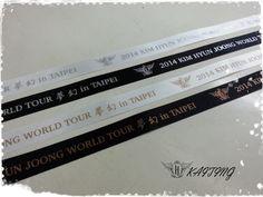 "RT""@DeannaHyun: KHJ 2014 World Tour in Taipei ""ribbons"" cr: @려개정 pic.twitter.com/8OVrrB1BWo"""