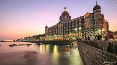 Top 10 legendary hotels in the world. (Built in the Taj Mahal Palace is Mumbai first harbor landmark, the site of the first licensed bar in the city (the Harbour Bar, which still stands) and the first hotel in India to have steam elevators. Cool Places To Visit, Places To Travel, Places To Go, Travel Destinations, Travel Tours, Hotels And Resorts, Best Hotels, Luxury Hotels, Unique Hotels