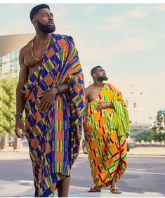 Kings !  @justinspio & @yawamoakogh ~ : @agyeiphotography & @_kay.u #BellaNaijaWeddings