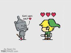 Heart Seeker T-Shirt - http://teecraze.com/heart-seeker-t-shirt-2/ -  Designed by Chow Hon Lam      #tshirt #art #fashion #zelda