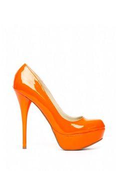 Orange Heels!