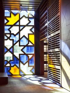 Gray Winter Skies Clouding Your View? Use Modern, Colorful Stained Glass —…