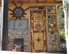 Cordwood Construction in the mountains of Utah